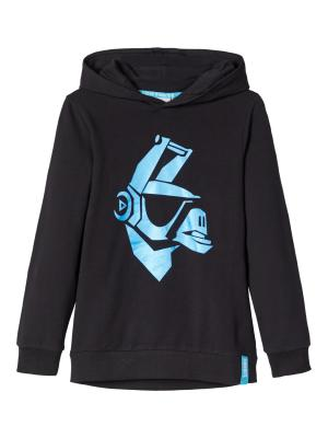NKMFORTNITE ERASMUS SWEAT BRU logo