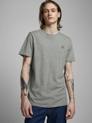 JJEDENIM LOGO TEE SS O-NECK  N 179085009 Light