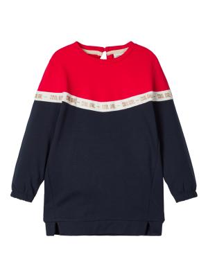 NMFBOSYNNE SWEAT TUNIC UNB logo