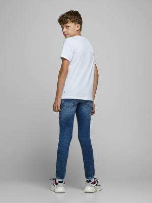JCOTUTAN TEE SS CREW NECK JR 178074 White