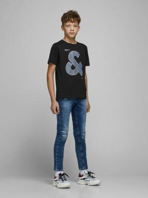 JCOTUTAN TEE SS CREW NECK JR 178012 Black
