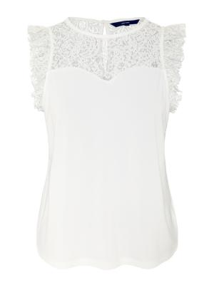 VMALBERTA SWEETHEART LACE S-L 175598 Snow Whi