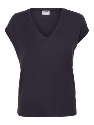 VMAVA SS V-NECK TEE VMA COLOR 213090 Night Sk