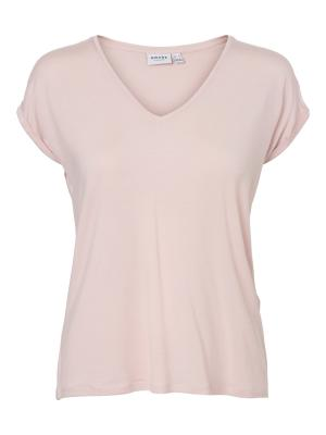 VMAVA SS V-NECK TEE VMA COLOR 221972 Sepia Ro