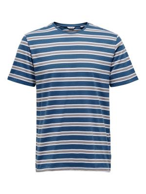 ONSSKETCHY REG SS STRIPED TEE logo