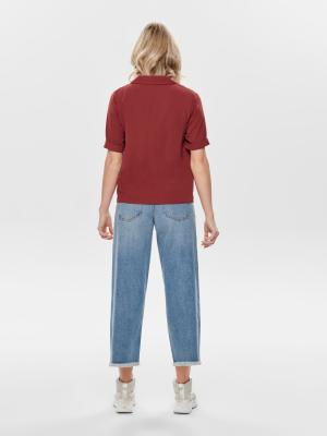 ONLSKY S-S SHIRT SOLID NOOS WV 218391 Spiced A