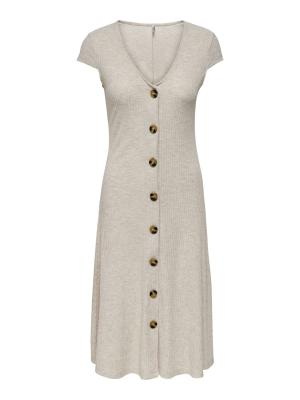 ONLNELLA S-S DRESS JRS 177935 Oatmeal