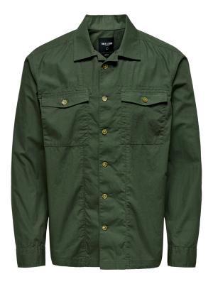 ONSAIDEN LS LIGHT OVERSHIRT 187198 Olive Ni