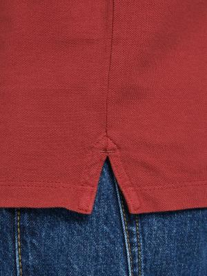 JJEJEANS WASH POLO SS CAMP 177226001 Red D