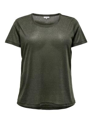 CARREX  S-S O NECK LUREX TOP E logo