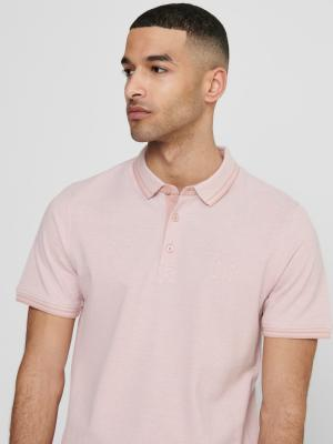 ONSSTAN LIFE SS FITTED POLOTEE 209970010 Misty