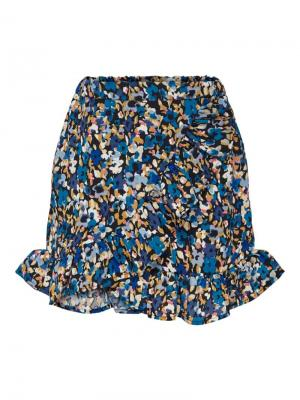 KONHOLLY FAKE WRAP SKIRT WVN logo